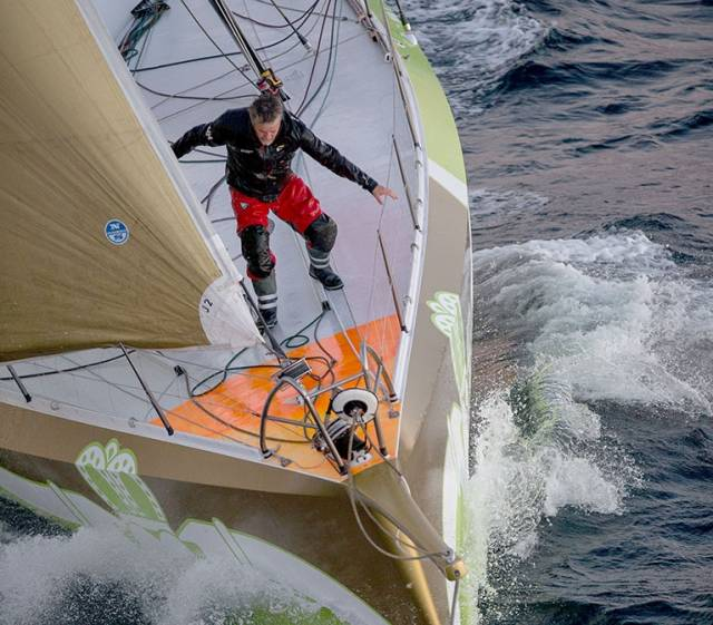 Enda O'Coineen 'Sailing in the Dark' As Storms Batter Vendee Globe Sailors