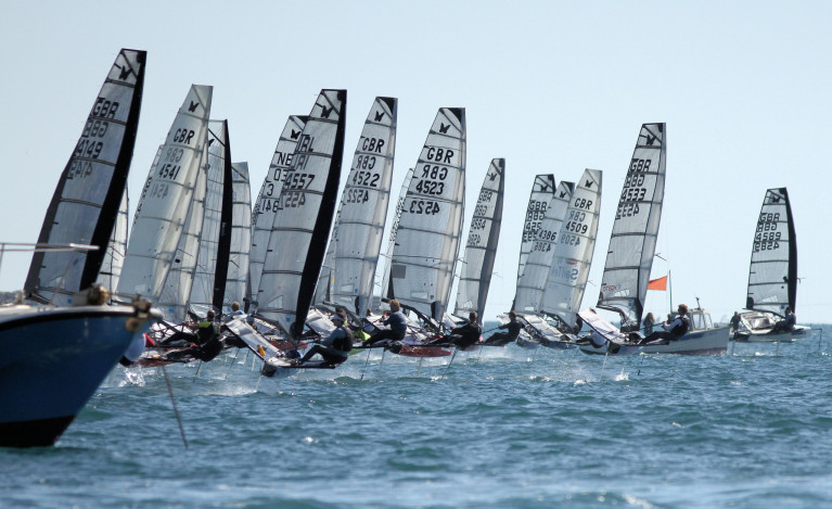 The UK Moth Nationals comes with an open invitation to sailors from any nation to come and race if they can make it to the UK