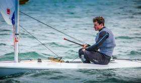 Liam Glynn from Ballyholme is the 2017 Laser Leinster Champion in the Standard Rig