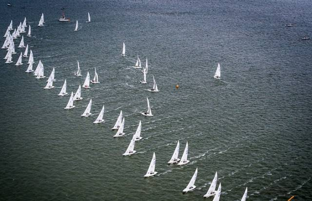 Australians Lead at Etchells Worlds