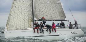 Paddy Gregory and Don Breen's First 34.7 'Flashback' took the IRC White Sail prize