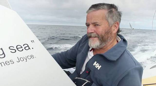 When the going was good – Enda O'Coineen at an early stage of his Vendee Globe campaign