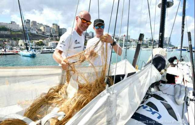 Northern Ireland Sailor Mikey Ferguson Completes Incident Filled Transat Jacques Vabre Race