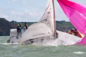 There will be no shortage of thrills 'n' spills with at the CH Marine Autumn League next month with a big fleet of 1720 sportsboats expected