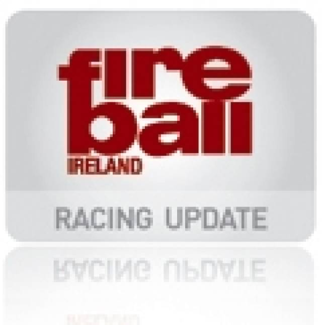 Irish Fireballs slip further in Barbados
