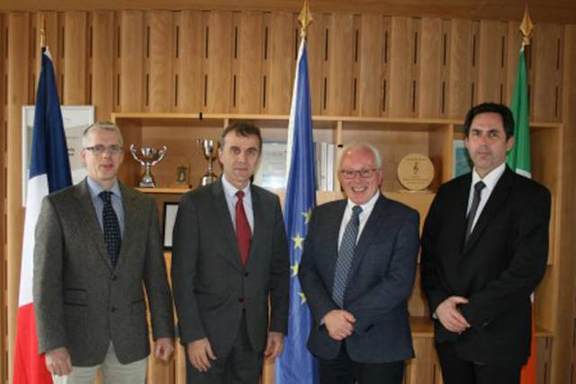 French Ambassador Visits Marine Institute To Learn About Its Work & Future Strategies