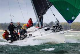 Juke Box winning the J109 UK Nationals