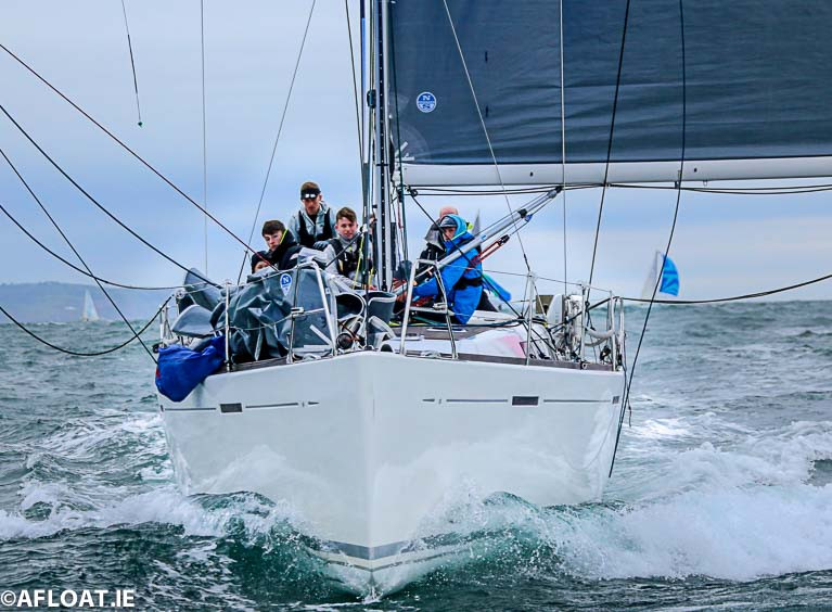 Denis & Annamarie Murphy Grand Soleil 40 Nieulargo competing in the 2019 D2D Race