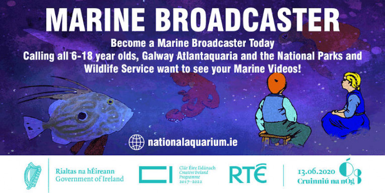 Become A Marine Broadcaster For Cruinniú Na nÓg