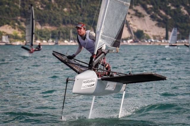 Annalise Top Woman at Massive Moth Worlds, David Kenefick Top Irish is 31st