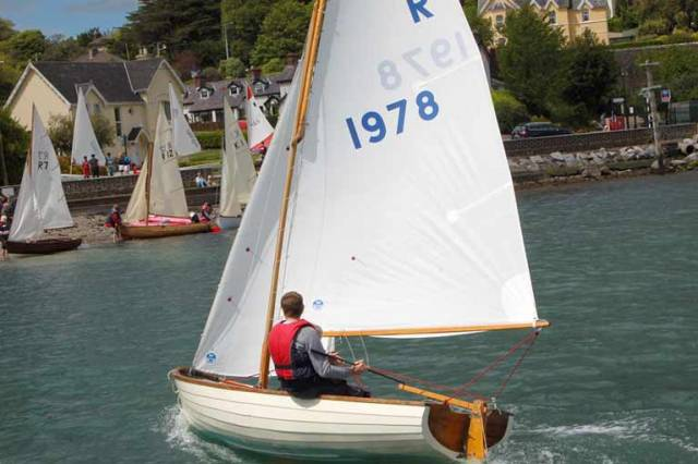 The Rankin dinghy is renowned in Cobh in Cork Harbour