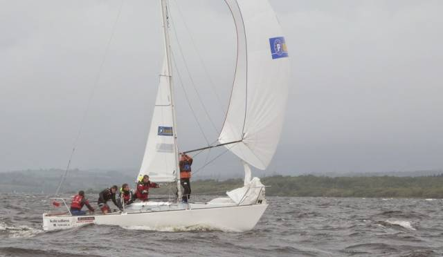 The Euro Car Parks sponsored K25 J24 team were winners of the Northern Champs at Sligo