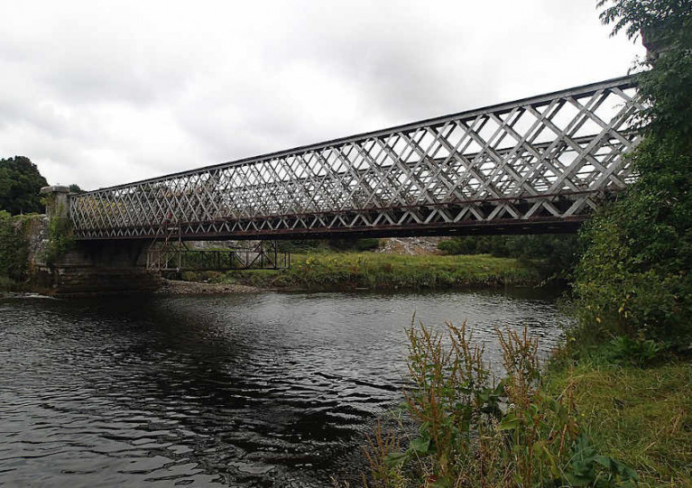 File image of the Obelisk Bridge which crosses the River Boyne near Townley Hall