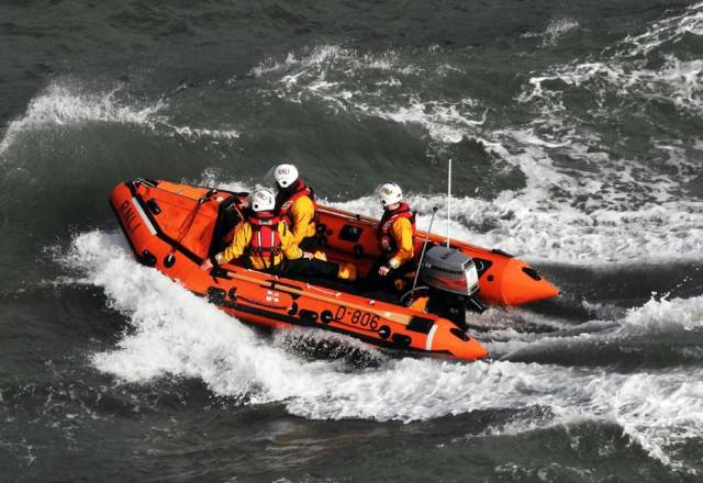 File photo of Wicklow RNLI's inshore lifeboat