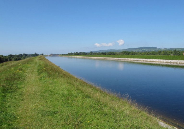 File image of the Headrace Canal which runs between Lough Derg and the hydroelectric plant at Ardnacrusha