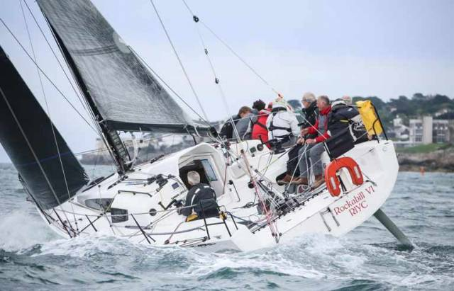 Paul O'Higgins's Rockabill VI is an early entry in the inaugural Wave Regatta
