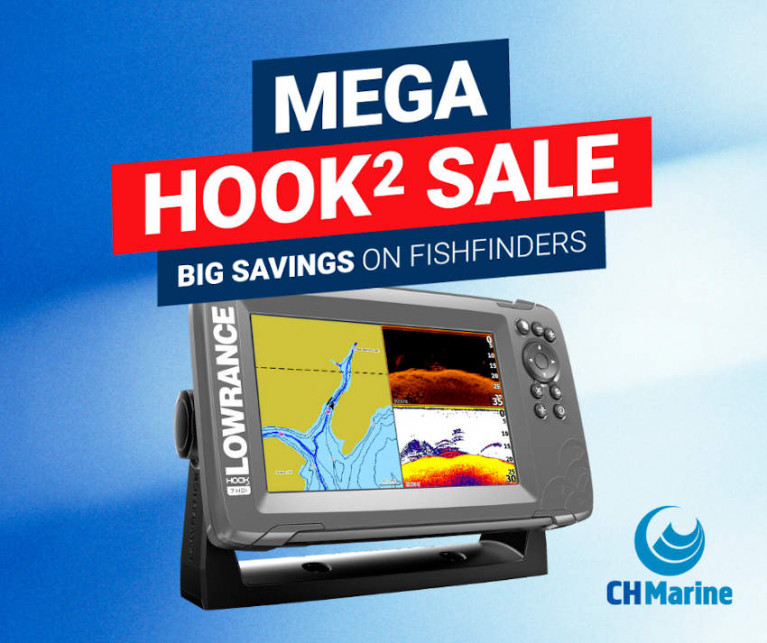 Bargains On Quality Jackets, Fishfinders & More From CH Marine