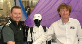 Matt Forbes from Adidas Sailing agrees terms with RYA Youth Racing Manager Mark Nicholls
