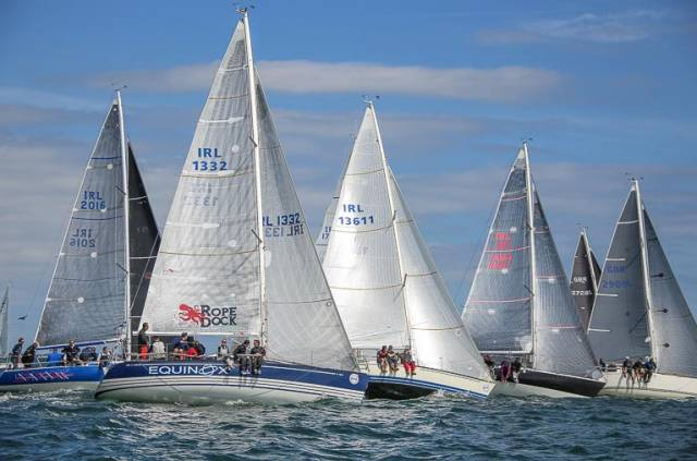 Strong IRC fleets have been assembled for Howth's Wave Regatta tomorrow