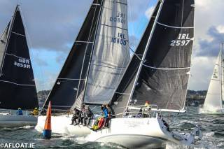 Dun Laoghaire yacht Windjammer (IRL2597) is in contention for overall honours in the ISORA Viking Marine Coastal Series this Saturday