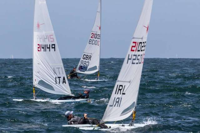 Lynch 16th, McMahon 24th Going into Final Day of Laser Europeans