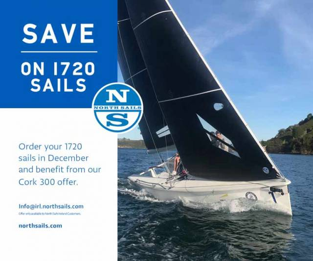 Save on North 1720 Sails: Celebrating 300 Years for the Royal Cork Yacht Club
