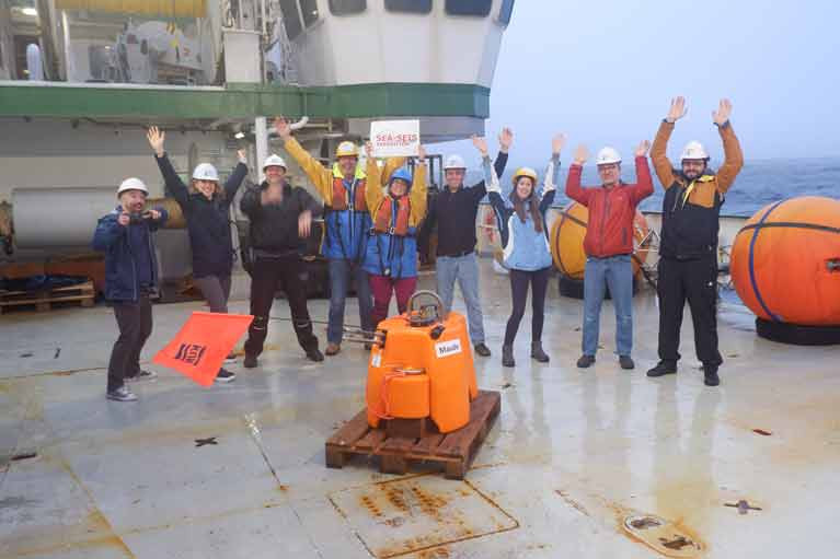 Self Isolating Scientists Head to Sea on Celtic Explorer