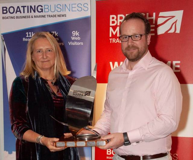 British Marine Trades Association Buisness of the Year 2019 Winner