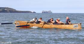 The Hobblers Challenge on Dublin Bay is a coastal rowing endurance test. Scroll down for more team photos