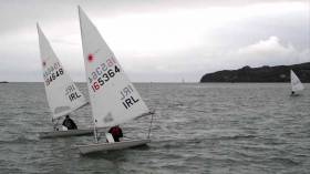 Laser racing at Howth