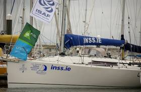 The INSS Reflex 38 in Dun Laoghaire