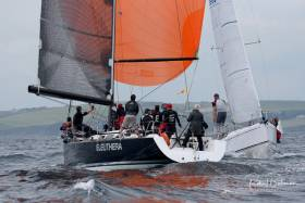 The Sovereign's Cup Winner 2019 - Eleuthera (Frank Whelan) from Greystones Sailing Club had a clean sweep in Class Zero to lift the overall trophy in Kinsale