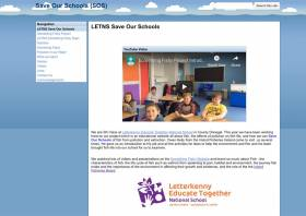 Letterkenny ETNS's website which won this year's Something Fishy contest