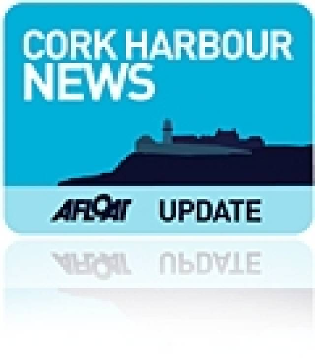 Snapshot Cork Dockyard: Tanker and Seismic Ships Berth Alongside