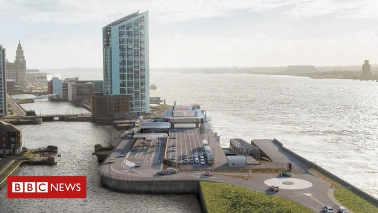 The new terminal in Liverpool (to serve the link to the Isle of Man) was originally scheduled to be completed this year.