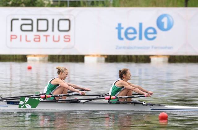 O'Brien and Lambe in Cambridge Boat Race Squad