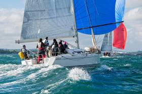 Ireland's IRC interests were represented at the world conference in Cowes last weekend. The 2017 Irish IRC championships, raced as part of the ICRA National Championships, will be held next June in Cork Harbour. The event is chaired by Alpaca skipper Paul Tingle (above) of Royal Cork Yacht Club.