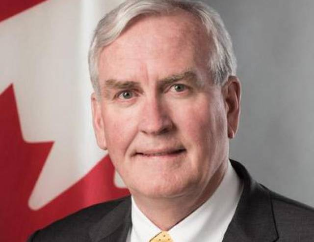 Royal Irish Welcomes 'Hero' Canadian Ambassador As International Guest Speaker