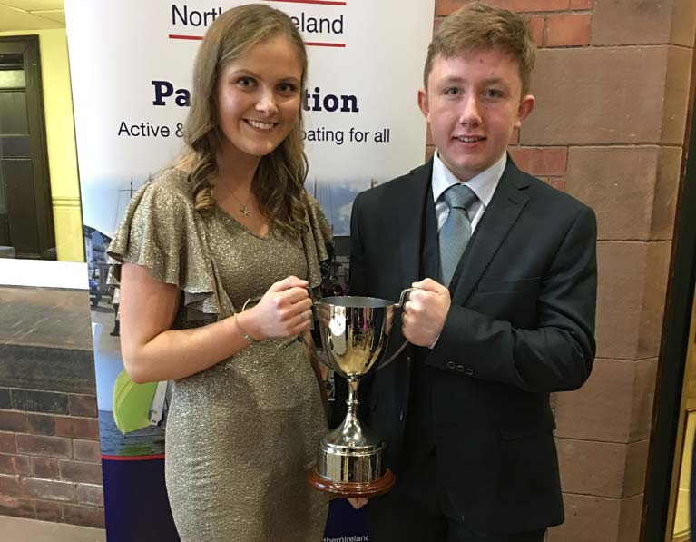County Antrim Yacht Club Youth Sailors Win Volunteer Award at RYA NI Awards