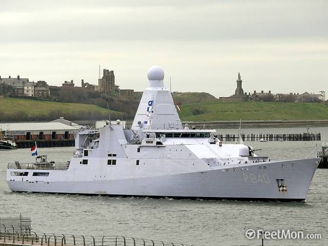 HNLMS Holland, leadship of her namesake class, is to make a crew rest call and host events for Dutch trade and business interests located in Cork and the Munster region