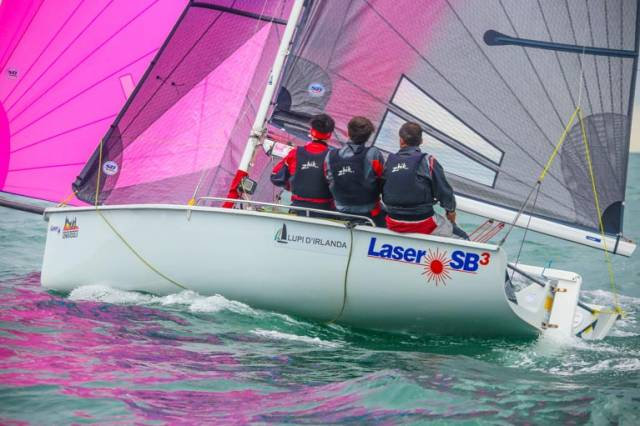 SB20 sailors started their DBSC Summer Season last night with the first Thursday night race on Dublin Bay