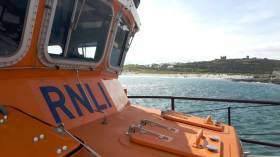 Aran Islands RNLI Comes to Aid of Sailor on Yacht in Difficulty off Straw Island