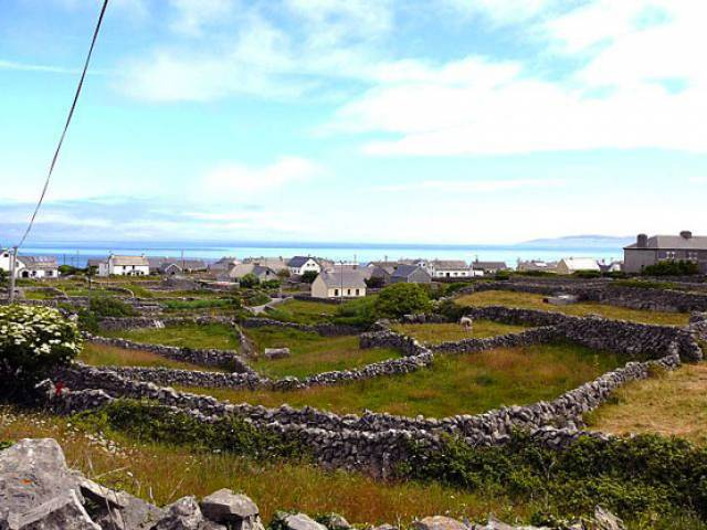 Inis Oírr in the Aran Islands