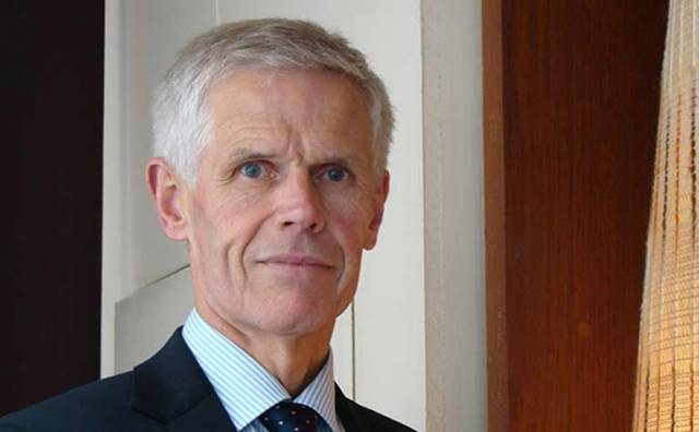 Sir Alan Massey of the UK's Maritime & Coastguard Agency (MCA)