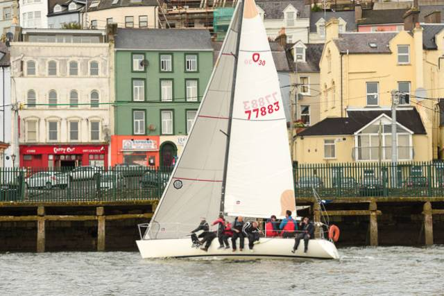 'No Excuse' Takes Early Lead at RCYC CH Marine Autumn League