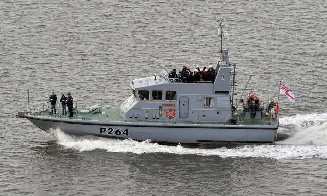 The leadship of the 'Archer' /P2000 class HMS Archer. A pair of sisters are to make a call to Dublin Port from today.