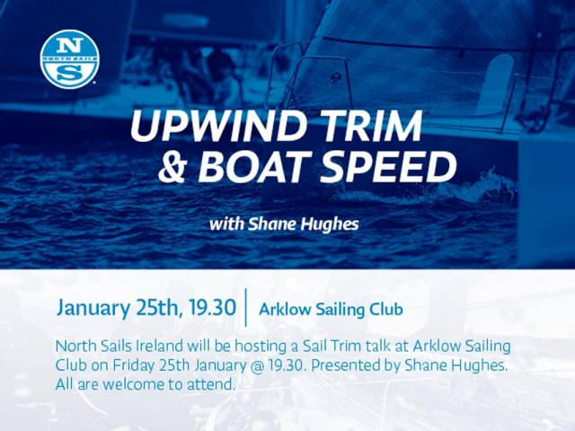 North Sails Ireland Takes Sail Trim Talk To Arklow This Friday