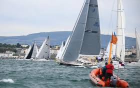 The 2019 D2D race will start off Dun Laoghaire Harbour on June 12