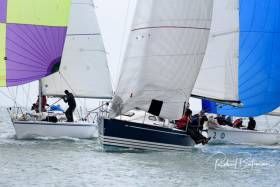 Cork Harbour racing in this month's Royal Cork Winter league