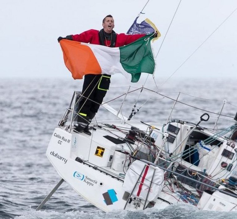 Irish Sailor of the Year 2020 - Tom Dolan brought his Figaro 3 Smurfit Kappa firmly into the frame in 2020